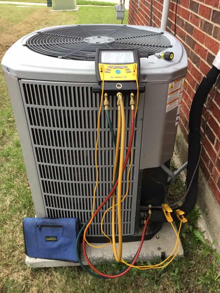 air conditioning unit assessment test