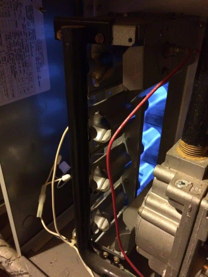 close up heater repair